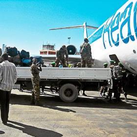 La Saeta se ha utilizado para traslado de tropas en África