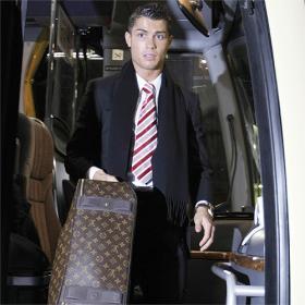 Pasado Un Momento Fogoso Con El Jugador Del Momento Cristiano Ronaldo