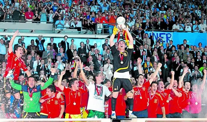 España, favorita en la Copa Confederaciones