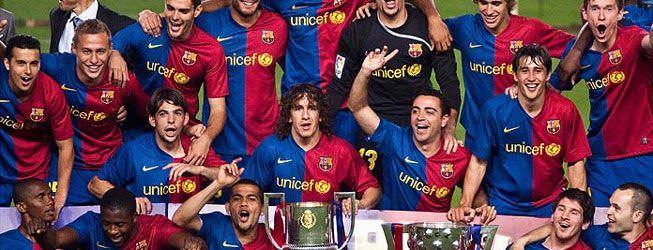 """""""Madridista el que no bote"""", se gritó en la fiesta del Barça"""
