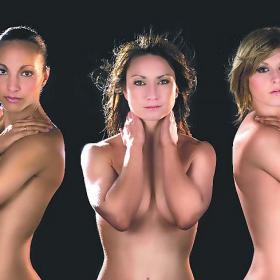 Jugadoras desnudas para promocionar el fútbol femenino