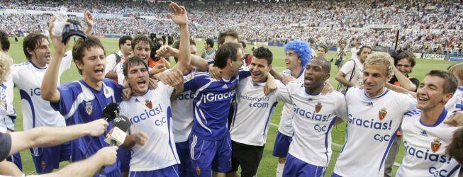 El Zaragoza vive su tarde más mágica para volver a Primera