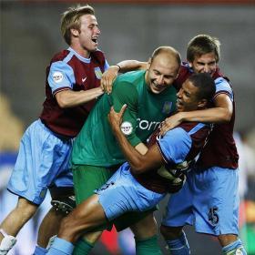 El Aston Villa se lleva la copa en la tanda de penaltis