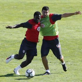 El Atlético prueba a Samuel, lateral derecho de la selección sub-20 de Ghana Atletico_prueba_Samuel_lateral_derecho