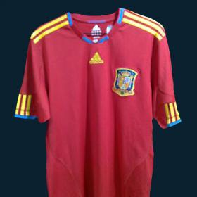 Nueva camiseta de la Seleccion Española