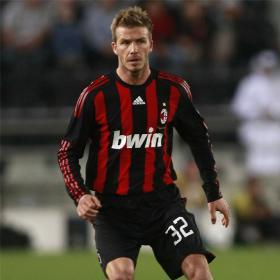 Beckham podría regresar al Milan en el mercado de invierno