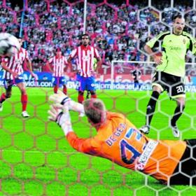 Atlético de Madrid Vs Zaragoza Jornada 6 Gea_le_da_Abel_vida