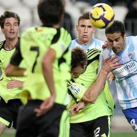 Too Many Cheats: Malaga & Zaragoza con their way to a stalemate