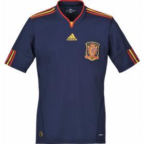El segundo uniforme de España será azul