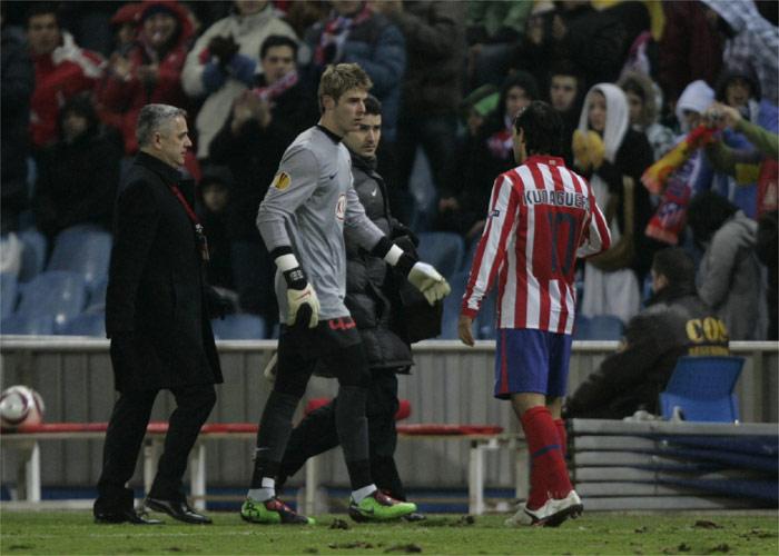 De Gea sufre una sobrecarga y estará en la vuelta ante el Galatasaray