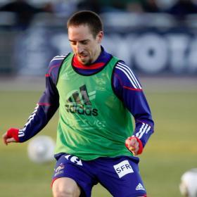 Rosell pregunta por Ribéry pero llega tarde