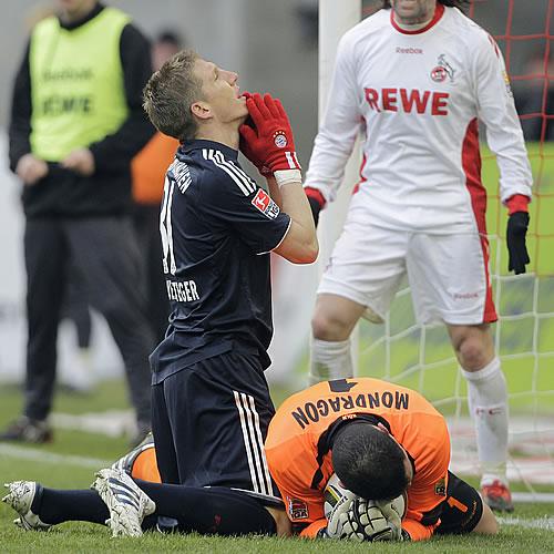 Ribéry fue suplente en el tropiezo del Bayern