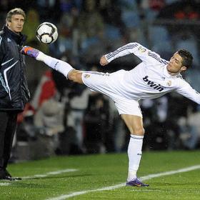 Cristiano Ronaldo v Getafe