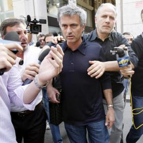 В Мадриде Моуринью будут сопровождать телохранители