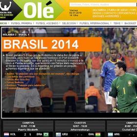 """Argentina se burla: """"Brasil 2014"""""""