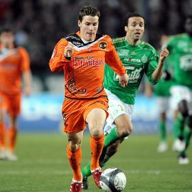 La prensa italiana sitúa al delantero del Lorient Kevin Gameiro en el punto de mira del Sevilla