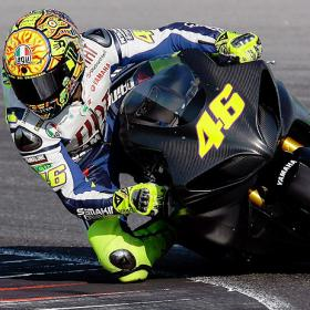 Rossi entrena por primera vez tras su lesión Strong_VALENTINO_ROSSI_PRUEBA_strong
