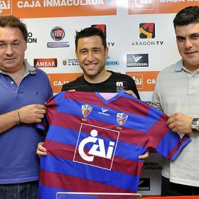 """Marcos: """"Vengo a Huesca perdiendo dinero pero quiero disfrutar del fútbol"""""""