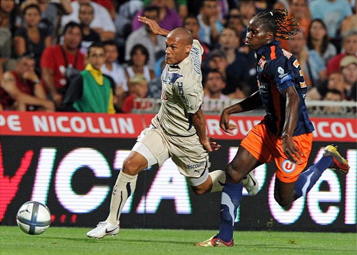 El Montpellier vence al Girondins Burdeos y se une al tren de cabeza