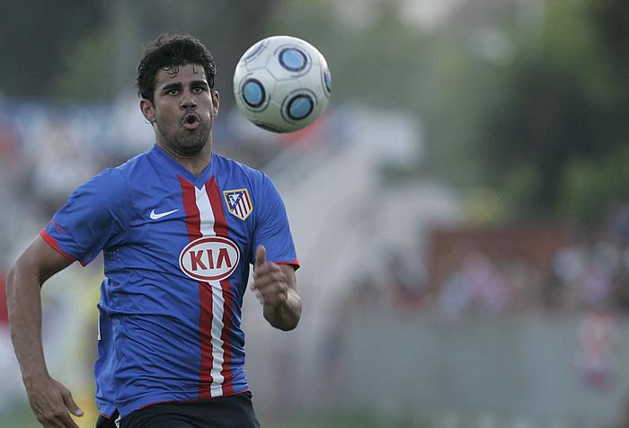 Diego Costa brilló ante el Cádiz, pero se irá cedido