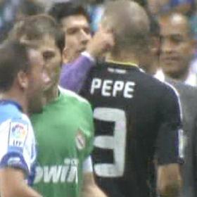 Luque le tiró de las orejas a Pepe