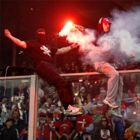 La UEFA da el triunfo a Italia en el partido ante Serbia