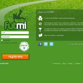 Nace Futmi, la primera red social de fútbol en España Web_Futmi