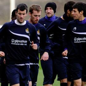 Los jugadores de la Real no se fían del Zaragoza