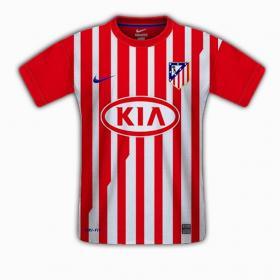 Две новые красные линии на футболке «Атлетико» в сезоне 2011/12