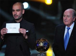 ليونيل ميسي ينال جائزة أحسن لاعب في العام و مورينيو أحسن مدرب Gala_FIFA_2010_imagenes