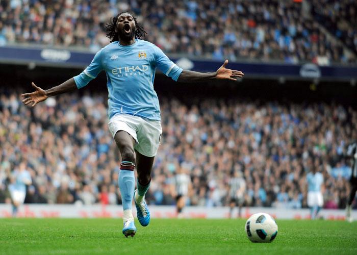 Adebayor, cedido al Real Madrid hasta el 30 de junio