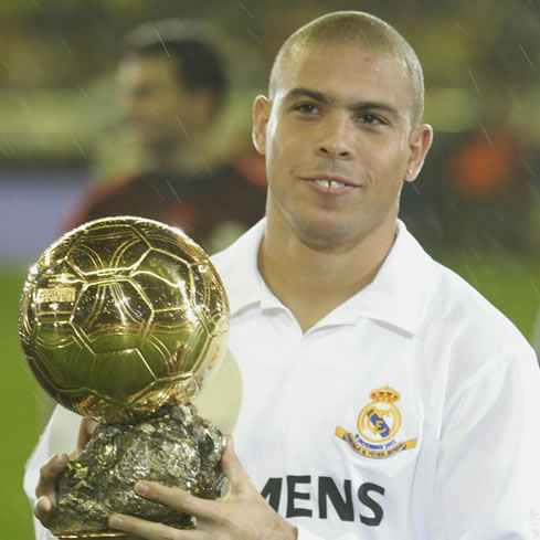 Ronaldo, la sonrisa del fútbol