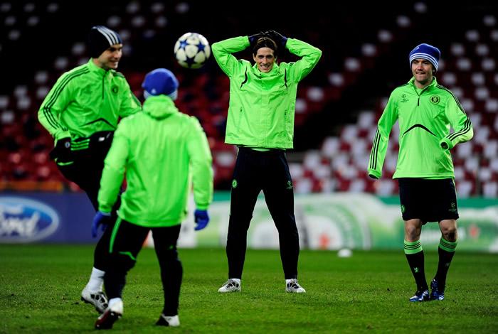 Torres regresa a la Champions
