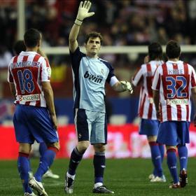 Casillas acaba con el Atlético