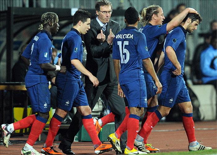 Una pobre Francia se impone en Luxemburgo