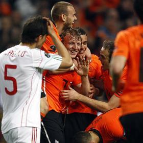 Holanda y Hungría se dan un festín de goles