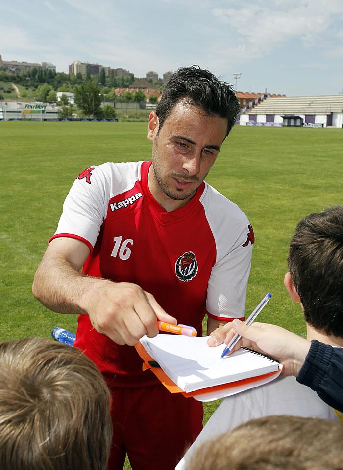 Pedro López presiona pero el Valladolid espera