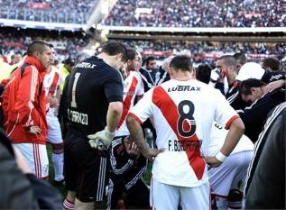 El descenso de River Plate, en imágenes