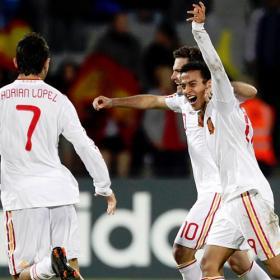 Siete españoles en el once ideal del Europeo Sub21