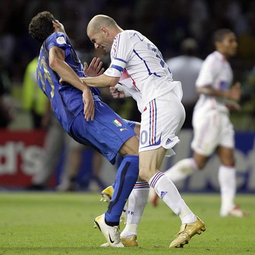 Cinco años del cabezazo de Zidane a Marco Materazzi