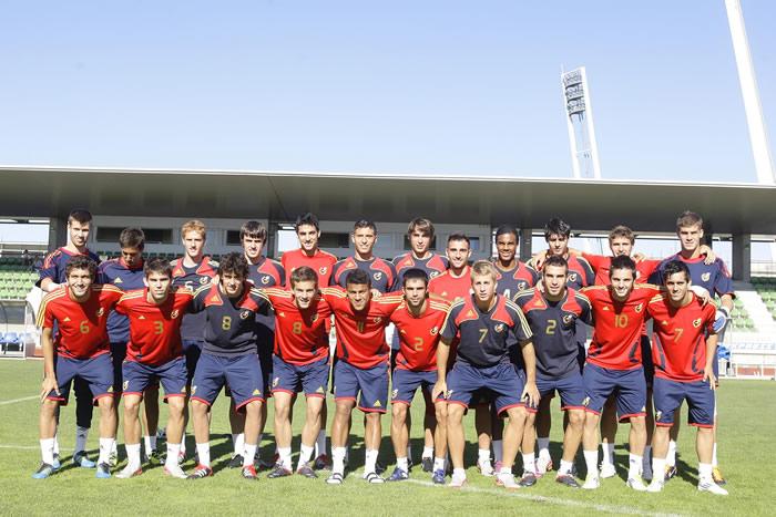 La Sub-19 espera unirse a la fiesta del fútbol español