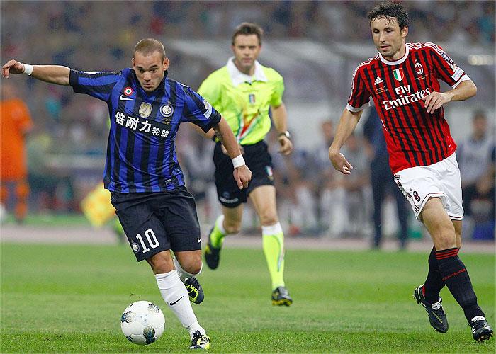 """Sneijder: """"Lo único que sé es que soy jugador del Inter"""""""