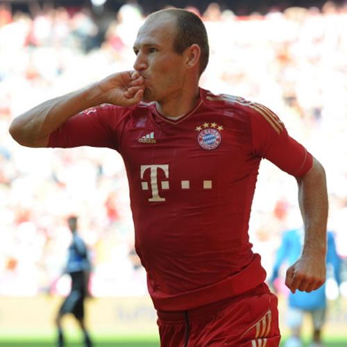 El Bayern de Múnich le hace una manita al Hamburgo