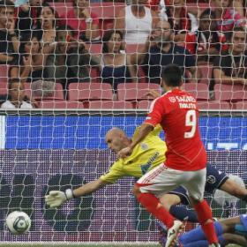 Nolito vuelve a marcar en la sufrida victoria del Benfica