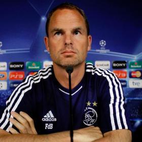 """Frank de Boer: """"Firmaría un empate con el Real Madrid"""""""