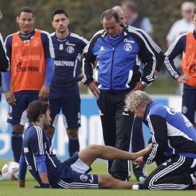 Raúl sufre una lesión en el tobillo izquierdo y es duda