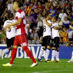 Canales rescata al Valencia