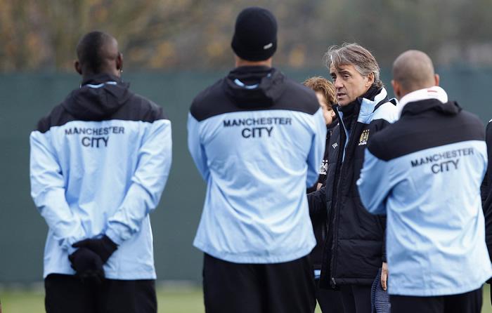 """Mancini: """"No tenemos equipo para ganar la Champions League"""""""