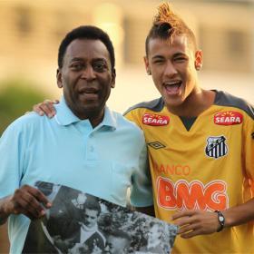 Neymar, mejor jugador del Campeonato Brasileño 2011