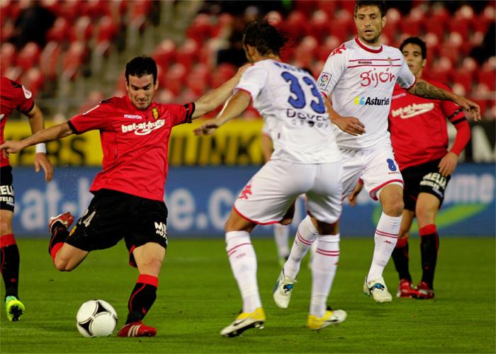Muñiz guía la eliminatoria para el Sporting en Mallorca